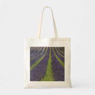Purple lavender fields near Sault Tote Bag