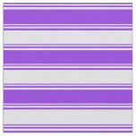 [ Thumbnail: Purple & Lavender Lines/Stripes Pattern Fabric ]