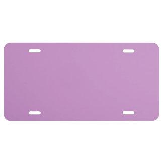 """Purple Lavender"" License Plate"