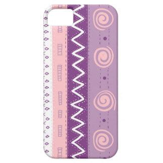 Purple Lavender Pink Global Print iPhone Case