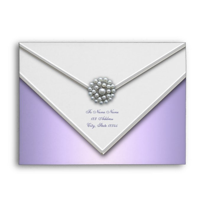 purple lavender white pearl purple envelopes zazzle