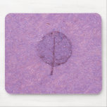 Purple Leaf fossil Mouse Mats
