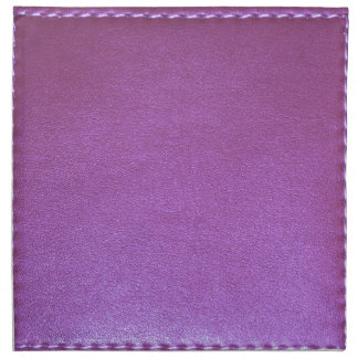 Purple Leather finish Template add TEXT n IMAGE 99 Napkin