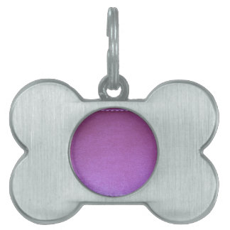 Purple Leather finish Template add TEXT n IMAGE 99 Pet Name Tag