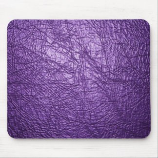 purple leather texture mouse pad