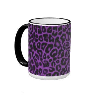 Purple Leopard Collection Mug