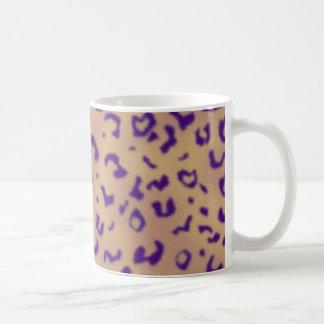 Purple Leopard Coffee Mugs