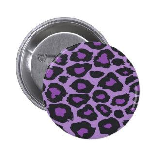 Purple Leopard Pin