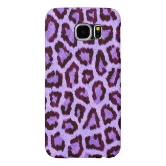 purple leopard print pattern - wild fun punk rock samsung galaxy s6 cases