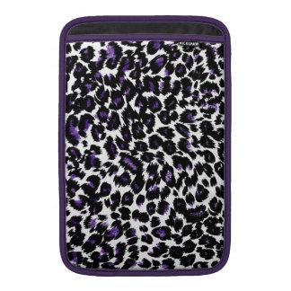 Purple Leopard Spots Sleeve For MacBook Air