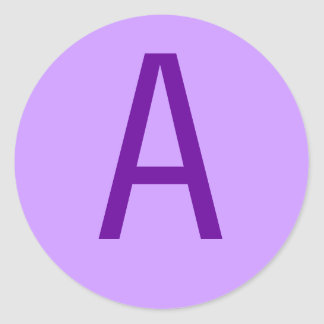 Purple Letter or Text on T shirts and Products Stickers