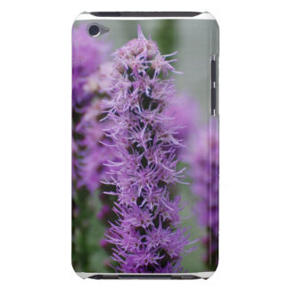 Purple Liatris Flowers iTouch Case Barely There iPod Covers