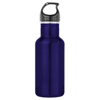 Purple Liberty Aluminum Template 18oz Water Bottle