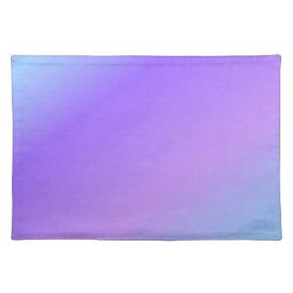 Purple Light Blue Shade Placemat