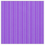 [ Thumbnail: Purple & Light Blue Stripes/Lines Pattern Fabric ]