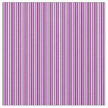 [ Thumbnail: Purple & Light Cyan Colored Lines Pattern Fabric ]
