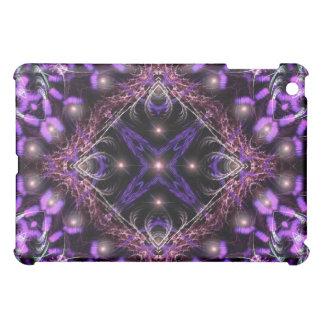 Purple Light Fractal Tapestry iPad  Case Case For The iPad Mini