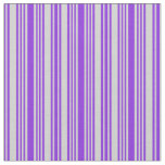 [ Thumbnail: Purple & Light Gray Colored Pattern Fabric ]
