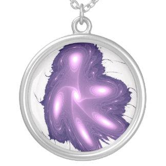 Purple Light Necklace