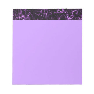 PURPLE LIGHT NEONFLAMES NEBULA SPACE FANTASY PHENO NOTEPADS