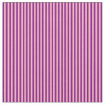 [ Thumbnail: Purple & Light Pink Colored Lines Fabric ]
