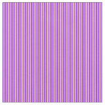 [ Thumbnail: Purple & Light Pink Striped Pattern Fabric ]