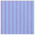 [ Thumbnail: Purple & Light Sky Blue Colored Pattern Fabric ]