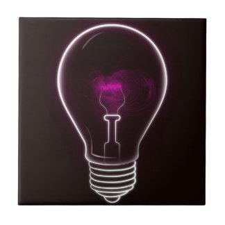 Purple light tile