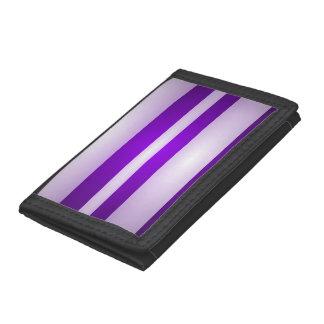 Purple Light Tri-fold Wallets