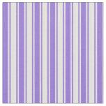 [ Thumbnail: Purple & Light Yellow Colored Pattern Fabric ]