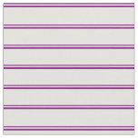 [ Thumbnail: Purple & Light Yellow Pattern Fabric ]