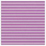 [ Thumbnail: Purple & Light Yellow Stripes Pattern Fabric ]