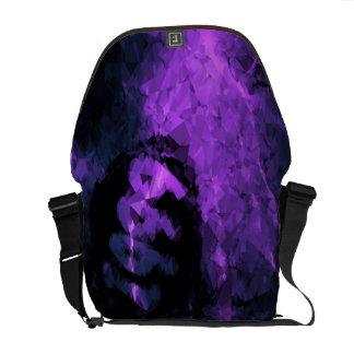 Purple Lightning Crack Vintage 1999 Courier Bag