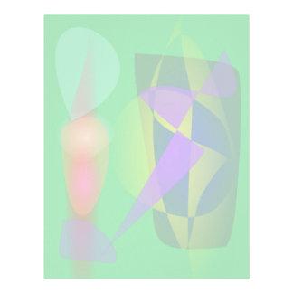 Purple Lightning Letterhead
