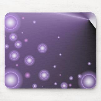 Purple Lights Mousepad