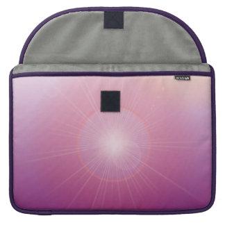 Purple Lights Sleeve For MacBooks