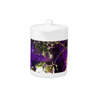 Purple Lights Teapot