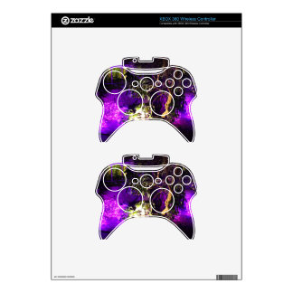 Purple Lights Xbox 360 Controller Decal