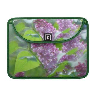 """Purple Lilac Flowers 13"""" MacBook Sleeve MacBook Pro Sleeve"""