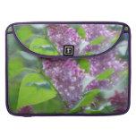 """Purple Lilac Flowers 15"""" MacBook Sleeve Sleeves For MacBook Pro"""