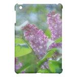 Purple Lilac Flowers iPad Case
