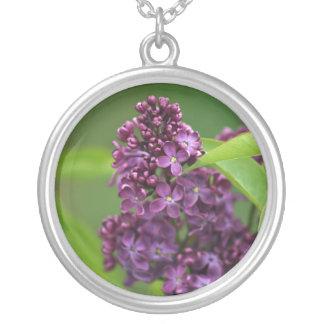 Purple Lilac Necklace