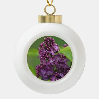 Purple Lilac Ornament
