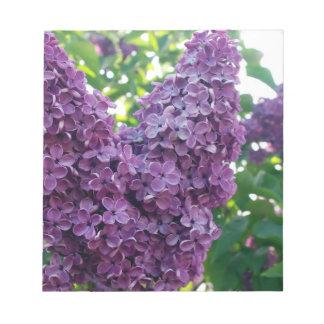 Purple Lilacs Notepad
