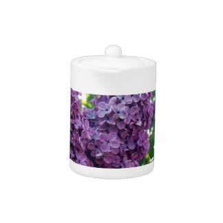 Purple Lilacs Teapot