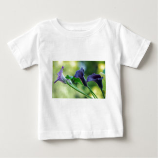 Purple Lilies Baby T-Shirt
