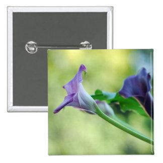 Purple Lilies Button