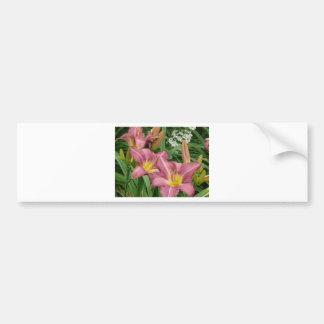 purple lily bumper sticker