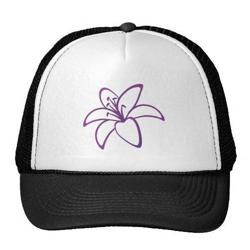 Purple Lily Trucker Hat