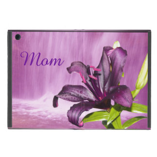 Purple Lily with Waterfall Covers For iPad Mini